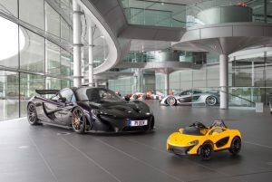 The Latest McLaren P1 Is Pure Electric