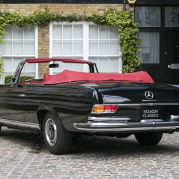 Right-Hand-Drive 1970 Mercedes-Benz 280 Cabriolet