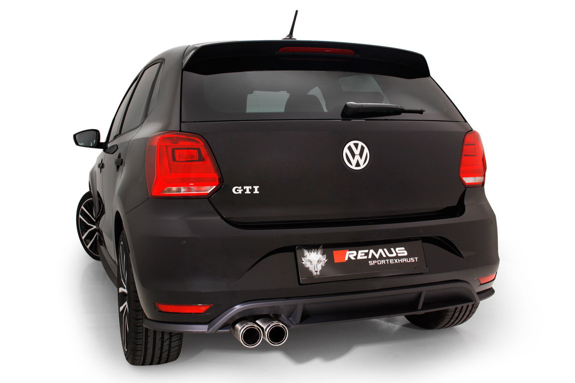 remus unveils brand new stainless steel exhaust system for mk5 polo gti. Black Bedroom Furniture Sets. Home Design Ideas