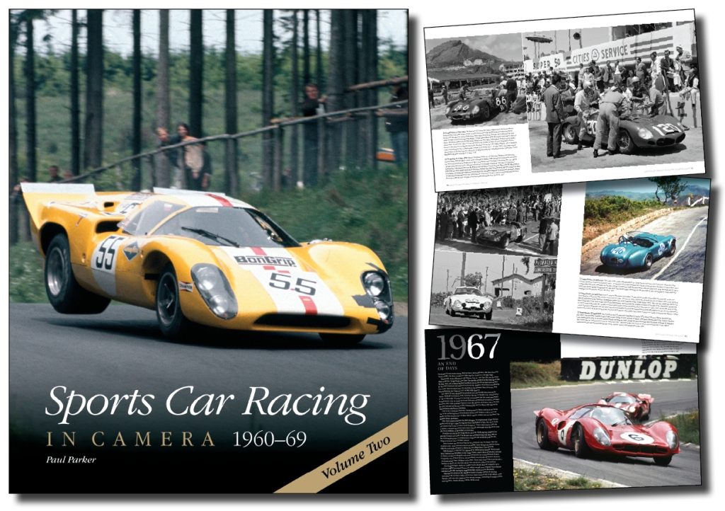 Sports Car Racing in Camera 1960s Style