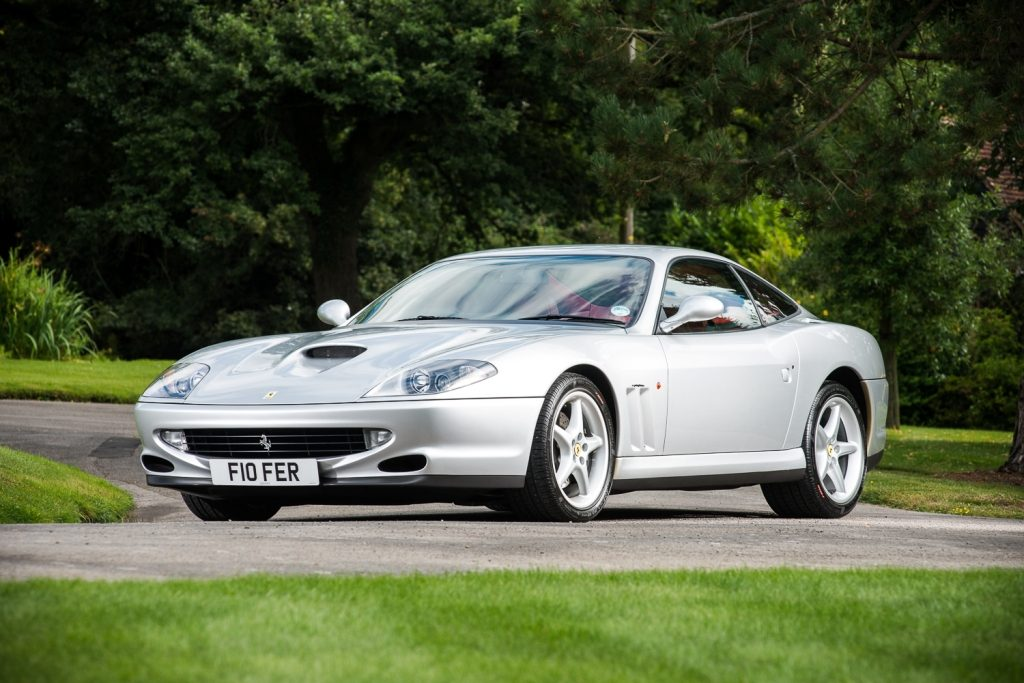 Sub 2,000 Mile Ferrari 550 To Cross The Block At Salon Privé