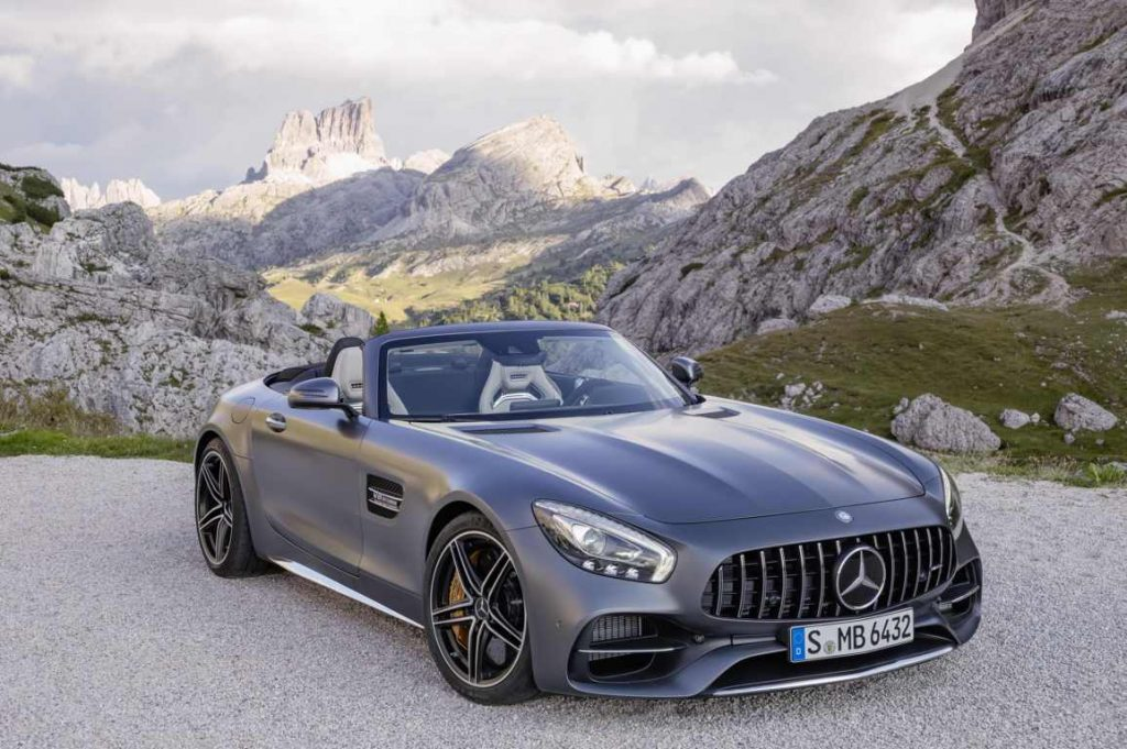 The New Mercedes-AMG GT Roadster And Mercedes-AMG GT C Roadster