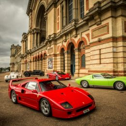 Alexandra Palace Gets Set For Supercars At The Classic & Sports Car Show2016
