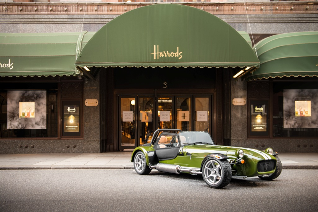 Caterham Teams Up With Harrods To Launch Signature Personalisation Programme