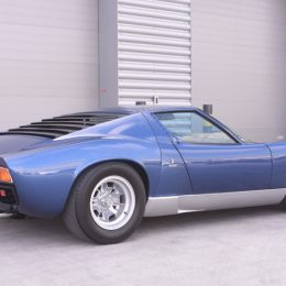 Ex-Sir Rod Stewart Lamborghini Heads Coys Auction At The Classic & Sports Car Show