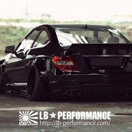 Liberty Walk Announces Brand New Body Kit Range For Mercedes C63 AMG
