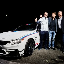 To celebrate the success of Marco Wittmann securing yet another DTM driver's title at the season finale at the Hockenheimring, BMW M is launching the BMW M4 DTM Champion Edition.