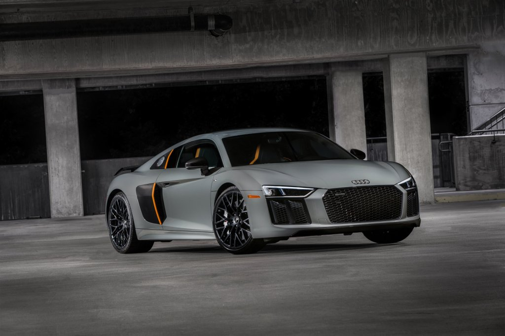 Audi First US Laser Light 2017 R8 V10 Plus Exclusive