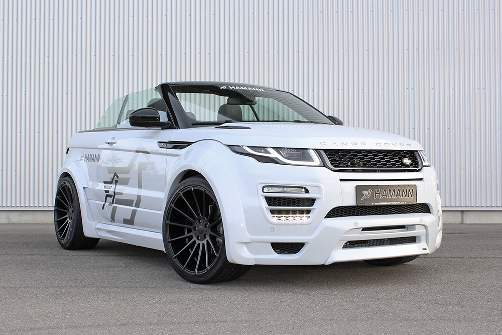 Hamann Wide Body Kit For The Range Rover Evoque Convertible