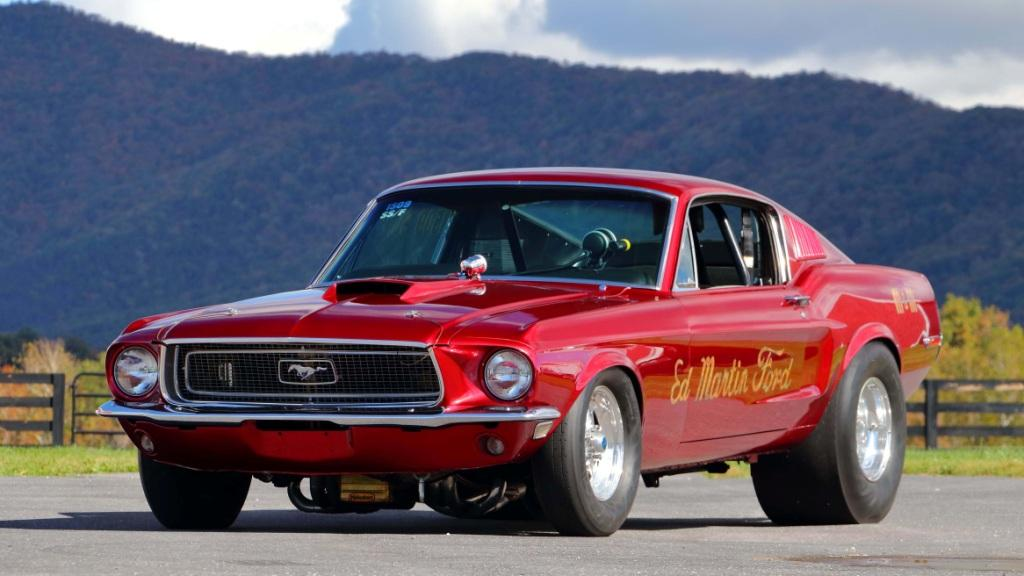 1968 Ford Mustang Race Car