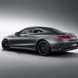 "2017 Mercedes-Benz S-Class Coupé ""Night Edition"""