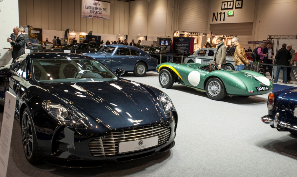 Exhibitors Race To Take Space At Expanded London Classic Car Show - London classic car show