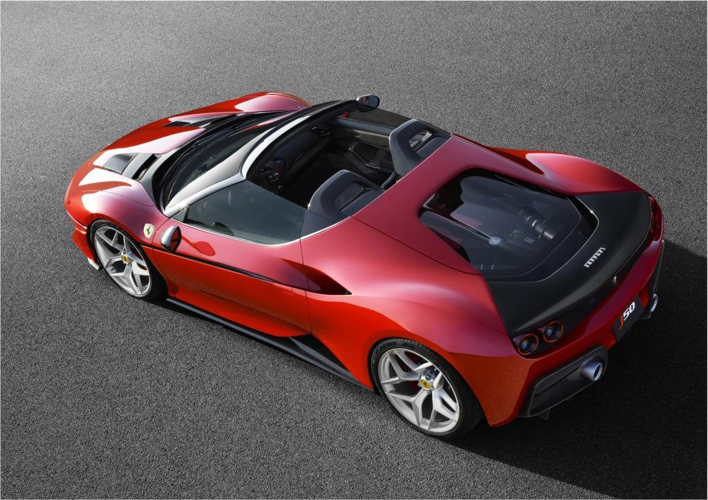 World Premiere Of The Ferrari J50