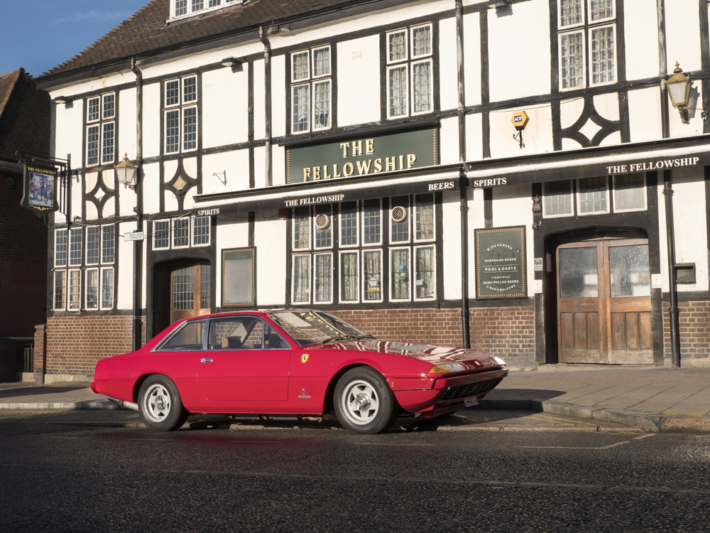 Henry Cooper's Ferrari To Go Under The 'Ammer At Coys Auction In London