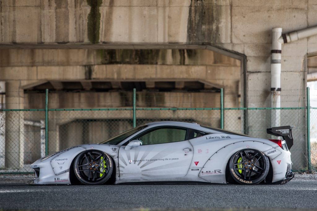 Liberty Walk Poised To Bring Highly Modified Lamborghini And Ferrari Supercars To Uk