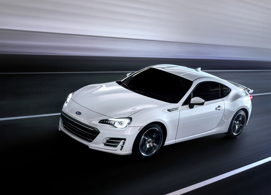 The Subaru BRZ Gets Updated For 2017