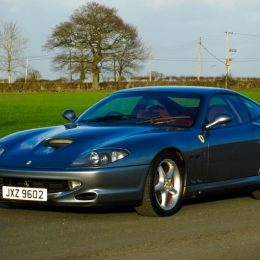 2000 Ferrari 550 Maranello World Speed Record