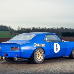 Historic Chevrolet Camaro To Cross The Block At Race Retro