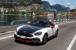 Abarth Showcases 124 Spider Heritage At London Classic Car Show