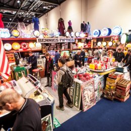 Beaulieu pop-up Autojumble at The London Classic Car Show