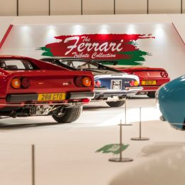 Ferrari tribute at the 2017 London Classic Car Show