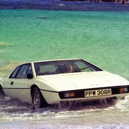 Lotus Esprit S1 Bond filming