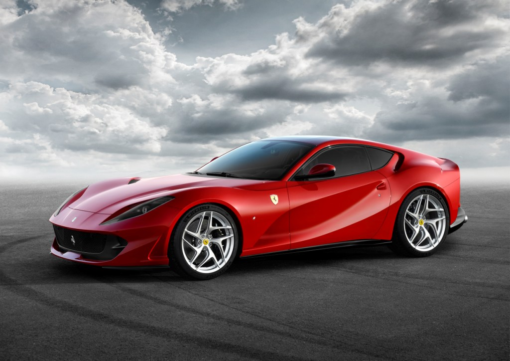 The Ferrari 812 Superfast