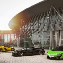 The New McLaren Automotive Composites Technology Centre