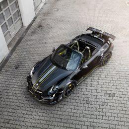 720 hp TECHART Porsche GTstreet R Cabriolet