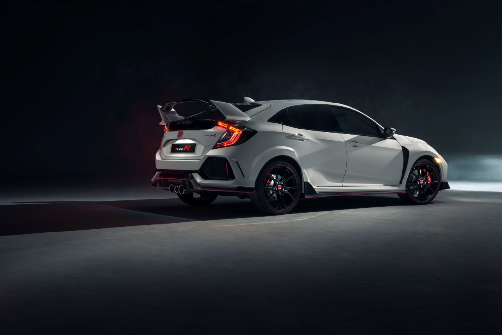All-New Honda Civic Type R Races Into View At Geneva 2017