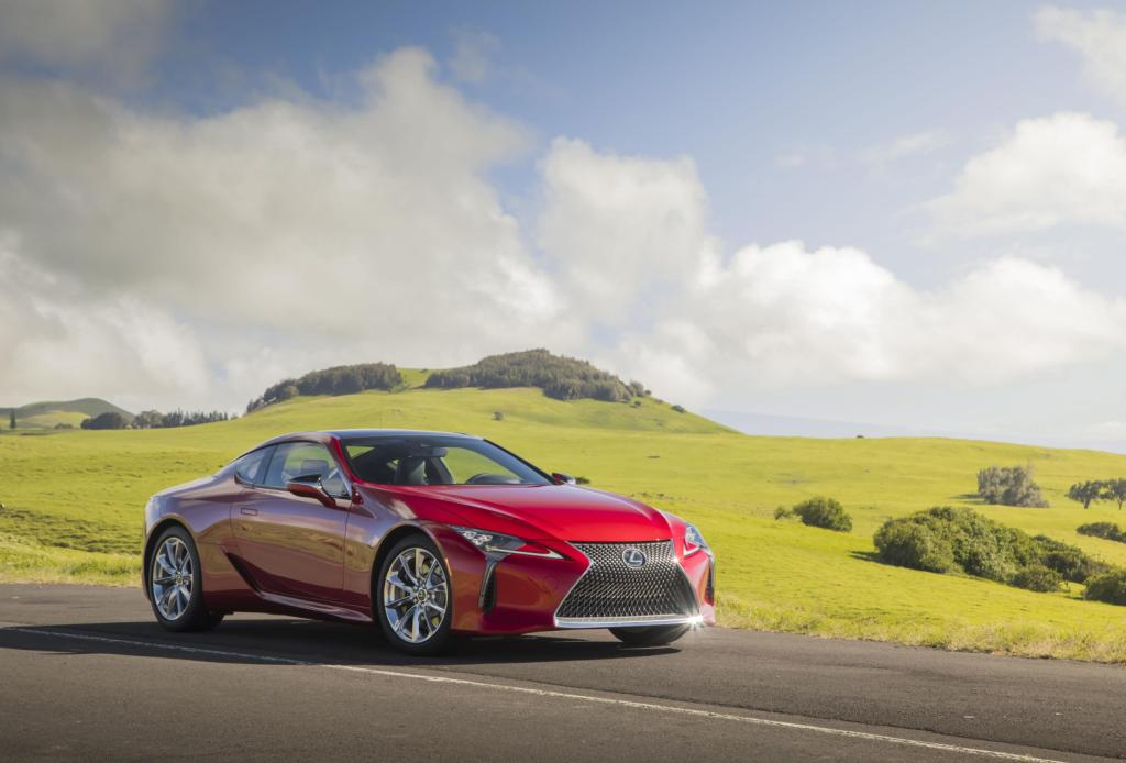All-New Lexus LC Performance Coupe Opens New Chapter In Brand History