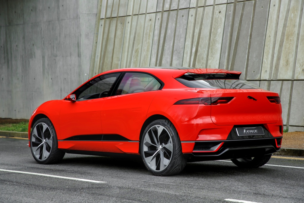 jaguar i pace the future of electric motoring hits the streets. Black Bedroom Furniture Sets. Home Design Ideas