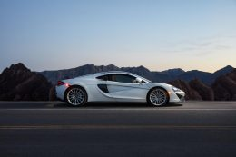 McLaren's Exotic 570GT Sports Car Takes Drive For Parkinson's