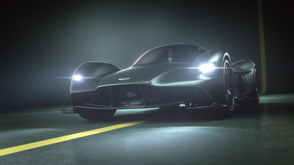 The Aston Martin Valkyrie AM-RB 001 Hypercar Takes Its Name From The Gods