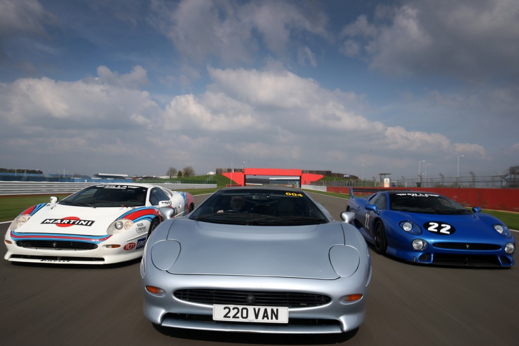 World Record Parade For Jaguar's Fastest Ever Production Supercar