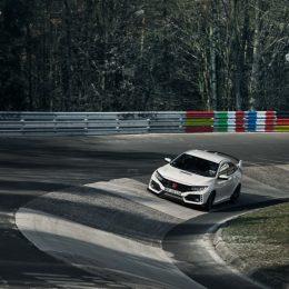 2017 Honda Civic Type R Sets New Front-Wheel Drive Lap Record At Nürburgring