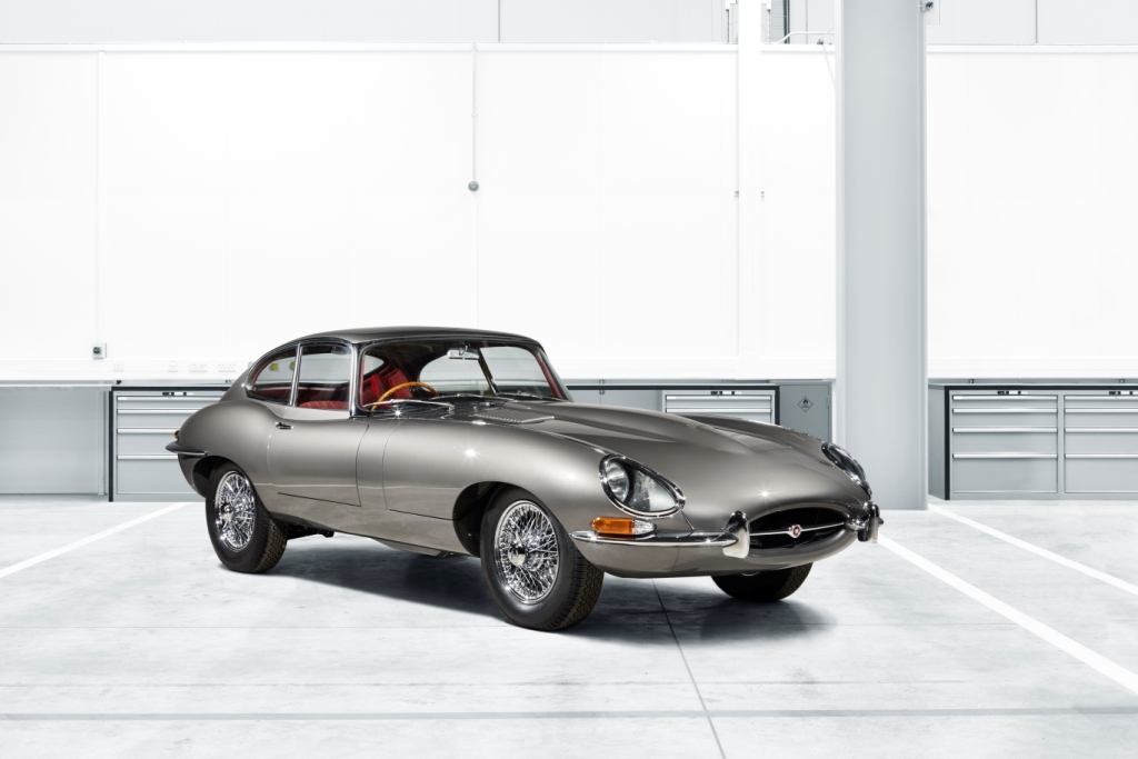 Jaguar Classic To Launch E-Type Reborn At Techno-Classica Essen Show