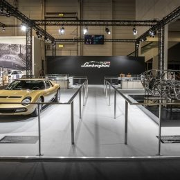 Lamborghini Polo Storico at Techno Classica 2017