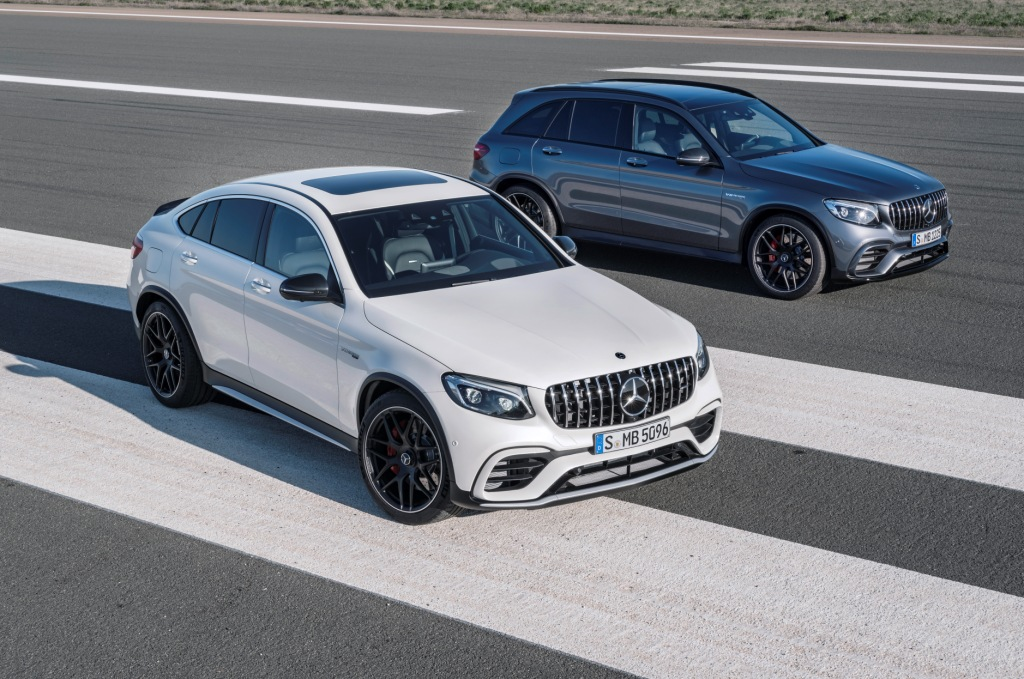Mercedes-AMG GLC 63 S 4MATIC+, 2017 Mercedes-AMG GLC 63 S 4MATIC+ Coupé, 2017