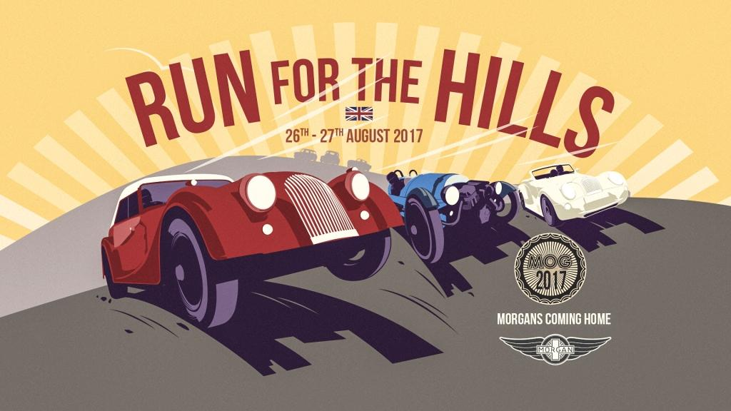 Morgan Brings Together The Biggest Collection Of Morgan Cars In The World At Inaugural Run For The Hills Event