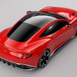 Q By Aston Martin Vanquish S Red Arrows Edition