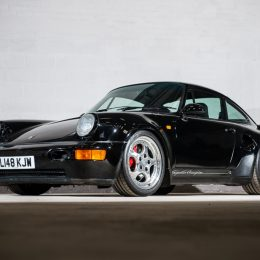 Rare, limited edition 1993 Porsche 911 Turbo S Leichtbau