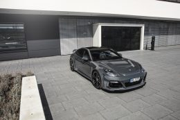 TECHART GrandGT Based On The Porsche Panamera