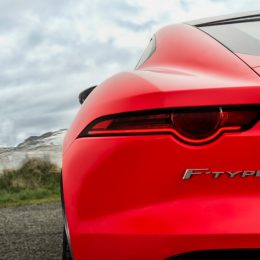 The New Jaguar F-Type Four-Cylinder
