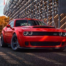 2018 Dodge Challenger SRT Demon Unleashes Full Power For $1
