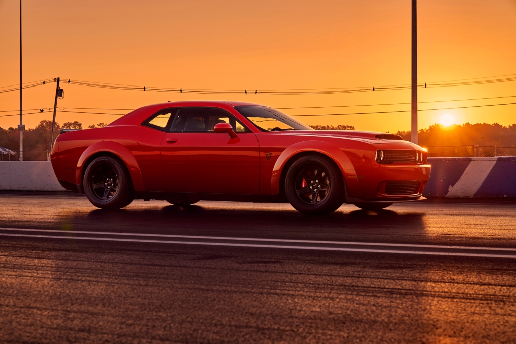 2018 Dodge Challenger Srt Demon Unleashes Full Power For 1