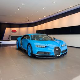 Bugatti Inaugurates The Brand's Largest Showroom In Dubai