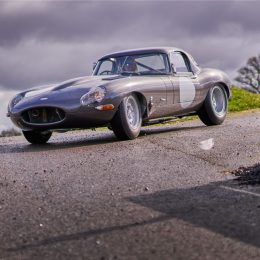 Rare Jaguar Lightweight E-type is Stratstone's star of the show