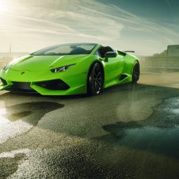 NOVITEC N-LARGO Based On The Lamborghini Huracan Spyder