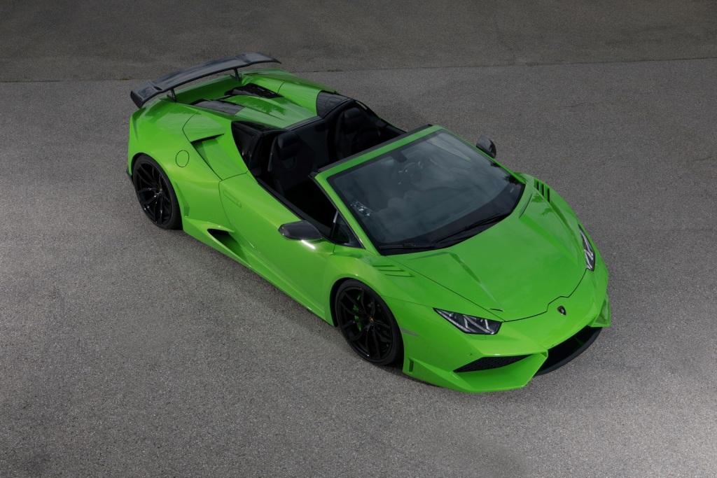 NOVITEC N-LARGO Based On The Lamborghini Huracan Spyder